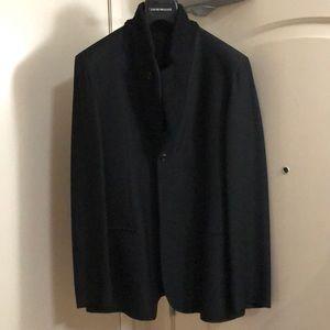 Emporio Armani black blazer size. 42R Slimmer fit
